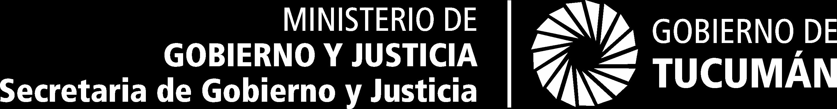 Ministerio de Justicia y Gobierno - Secretaría de Gobierno y Justicia